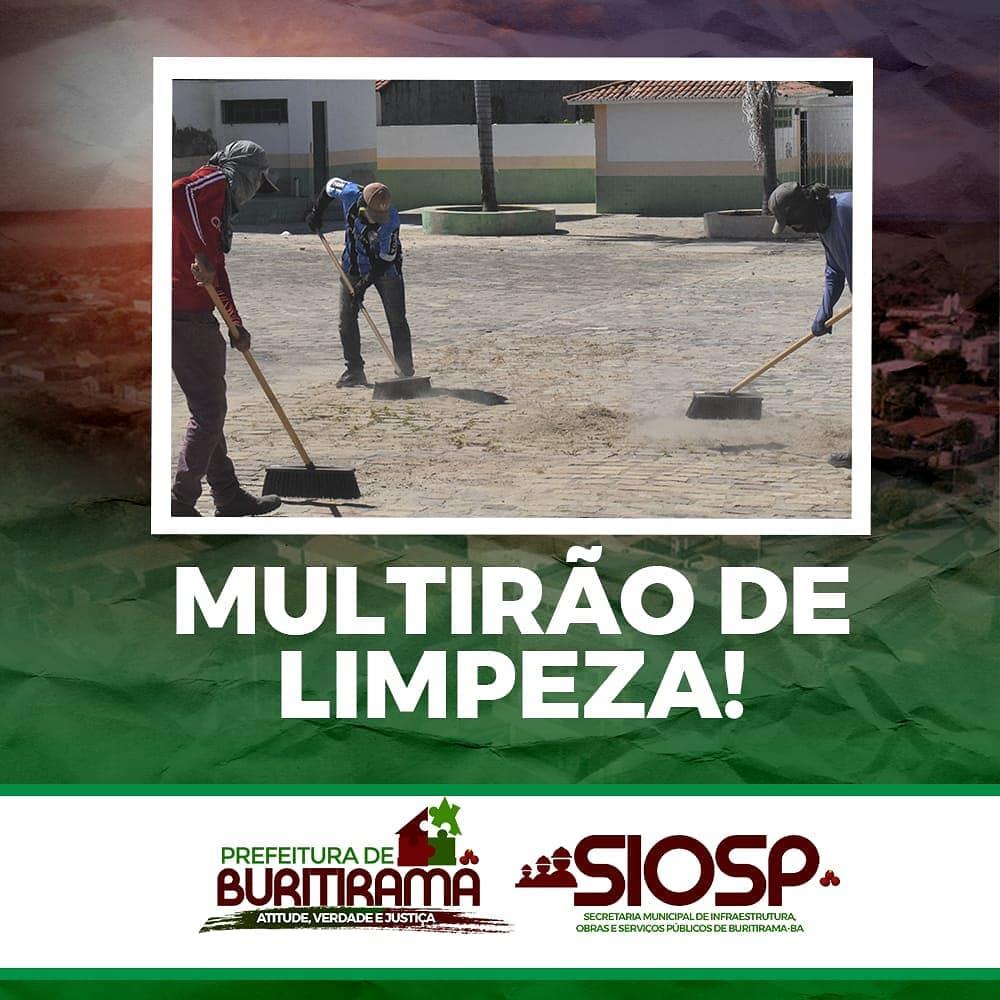 MULTIRÃO DE LIMPEZA - SEDE
